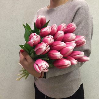 Розовые тюльпаны Воронеж