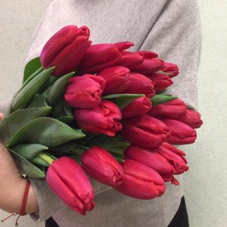 Красные тюльпаны Воронеж