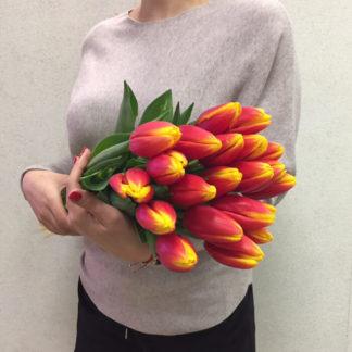 Оранжевые тюльпаны Воронеж