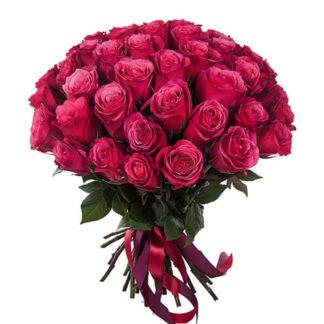 Букет розовых роз Черри 101 шт
