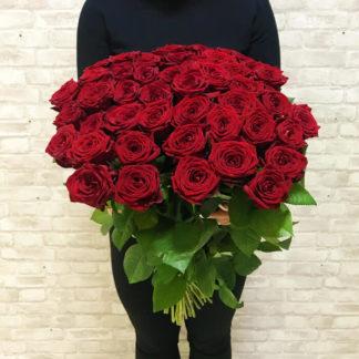 Букет из красных роз Наоми 35 шт Воронеж