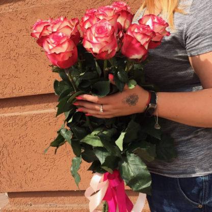 Букет розовых роз Палома Воронеж