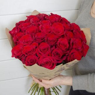 Букеты из 21 розы