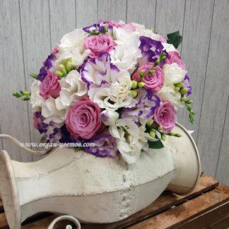 """Букет невесты """"Сиреневый вальс"""""""