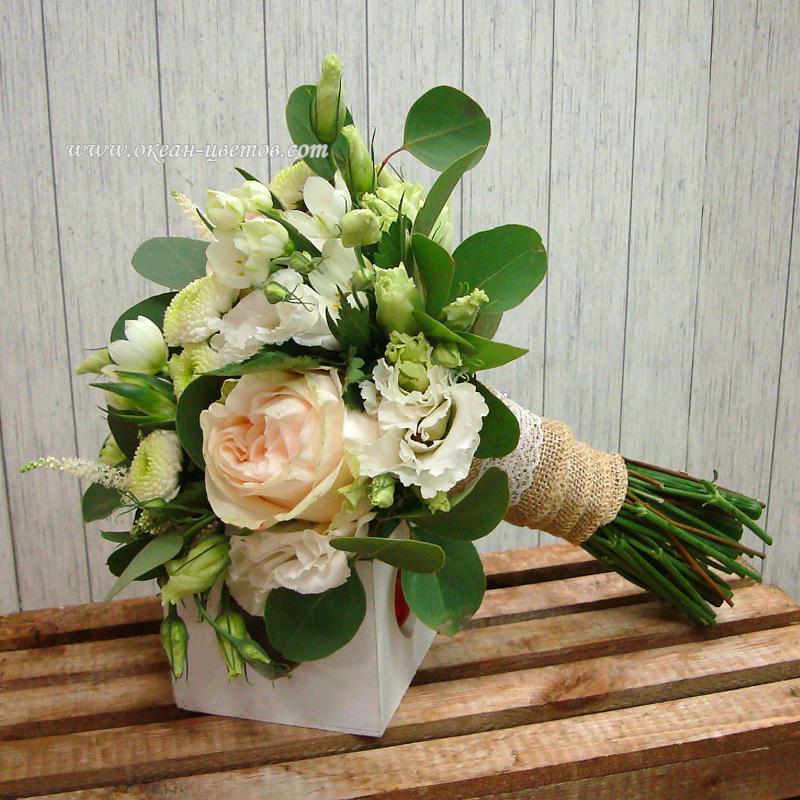 Цветы свадебный, букет невесты воронеж цена