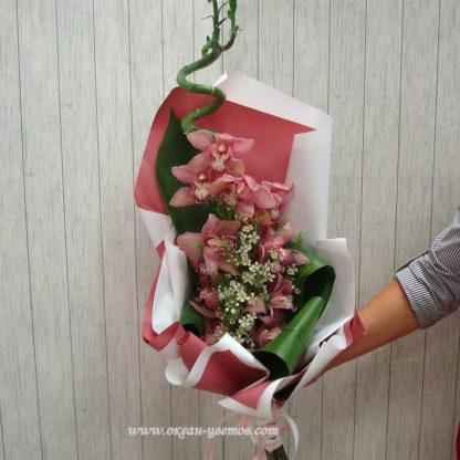 """Букет """"Розовая орхидея"""""""