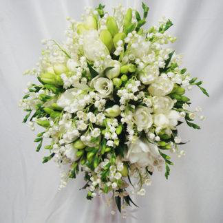 """Букет невесты """"Серебряный дождь"""""""