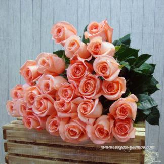 Букет розовых роз Пикубо 25 шт Воронеж
