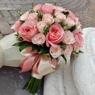 Букет невесты с розами Воронеж