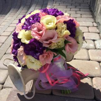 Букет невесты из эустомы Воронеж