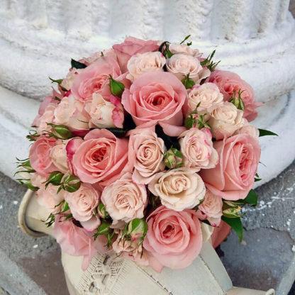 Букет невесты с розами Воронеж 2