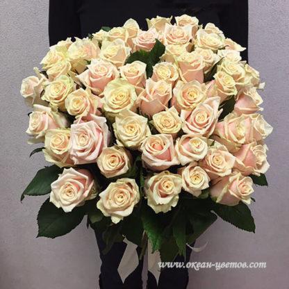 Букет кремовых роз Талея Воронеж 2