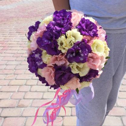 Букет невесты из эустомы Воронеж 2